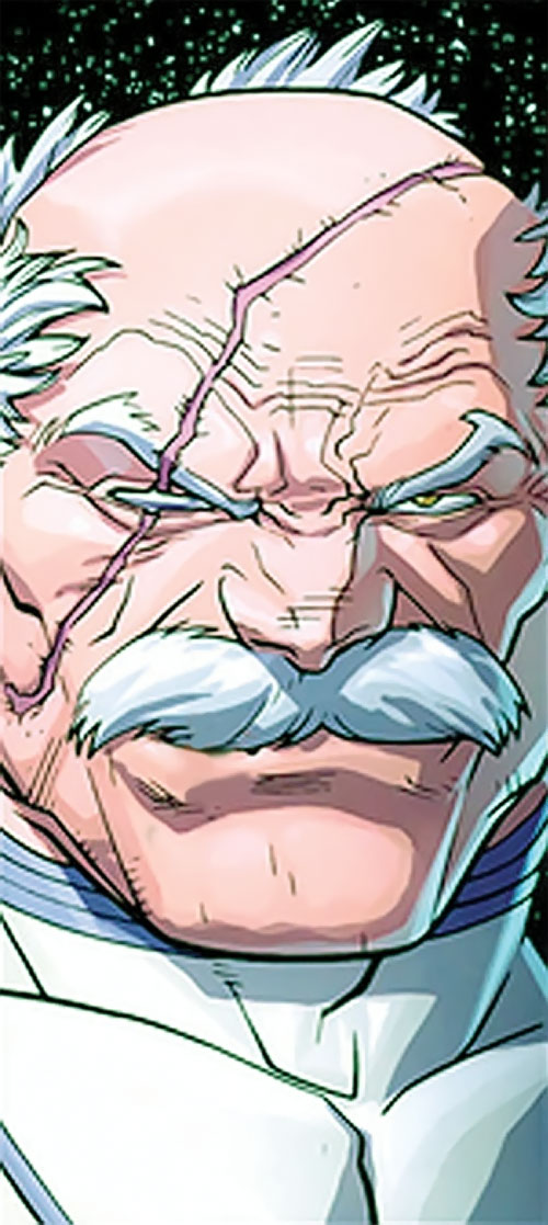 Conquest (Invincible enemy) (Image comics) smiling face closeup