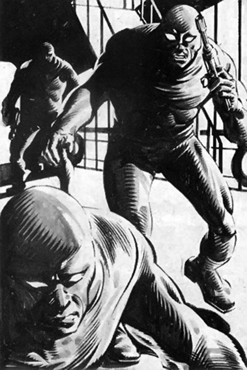 Conspiracy agents (Bloodstone enemies) (Marvel Comics)