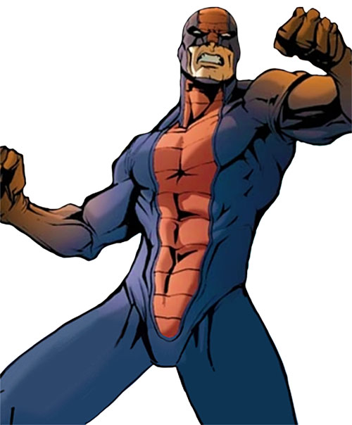 Constrictor (Marvel Comics) in a power pose