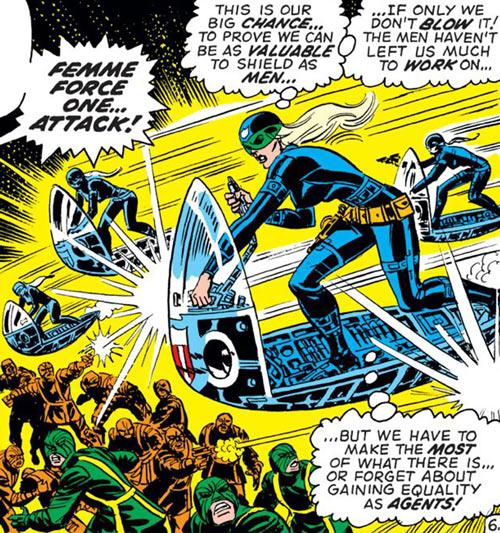 Sharon Carter and Femme Force (Marvel Comics)