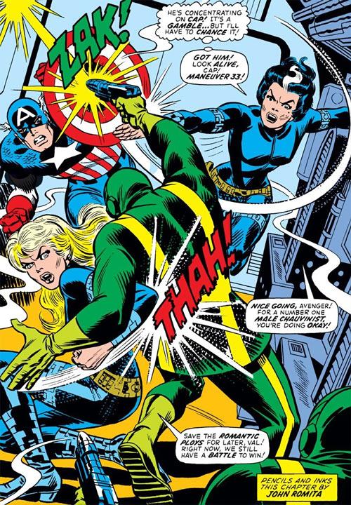 Contessa Valentina Allegra de la Fontaine of SHIELD (Marvel Comics) classic - Romita art