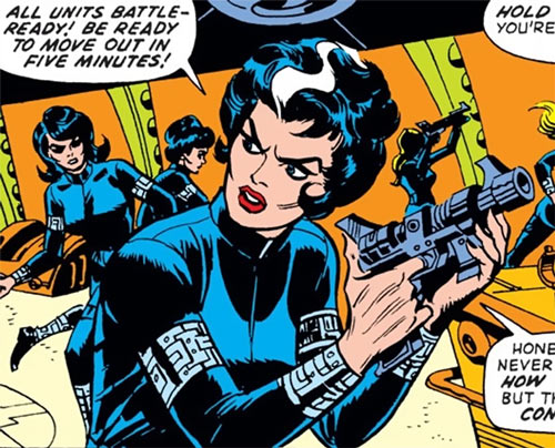 Contessa Valentina Allegra de la Fontaine of SHIELD (Marvel Comics) classic - ordering Femme Force