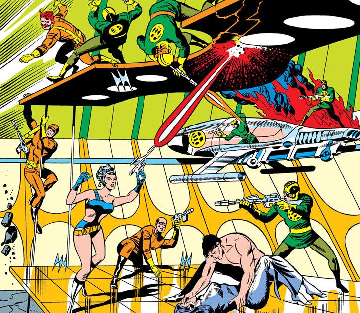 Contessa Valentina Allegra de la Fontaine of SHIELD (Marvel Comics) classic - Steranko assault