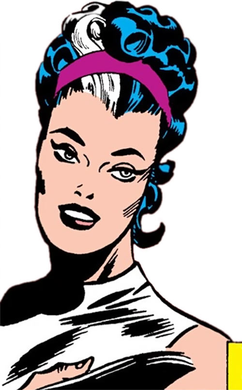 Contessa Valentina Allegra de la Fontaine of SHIELD (Marvel Comics) classic - portrait