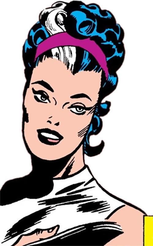 Contessa Valentina Allegra de la Fontaine of SHIELD (Marvel Comics) classic - portrait