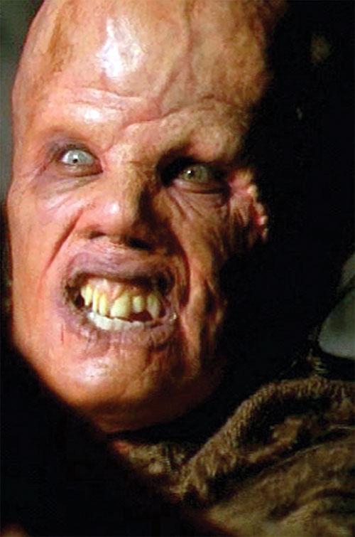 X-Files mutant resembling a STALKER Controller