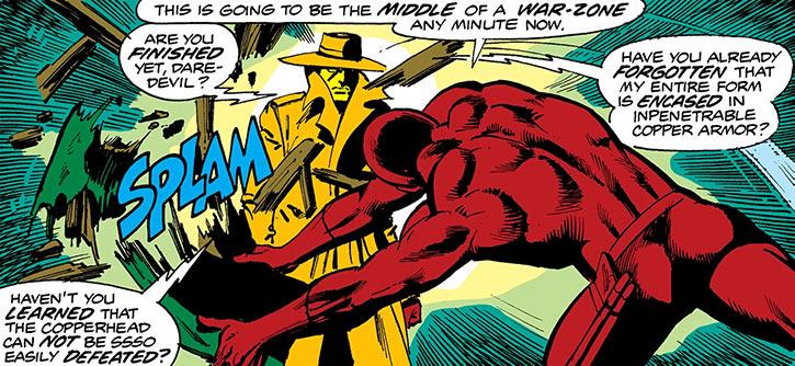Copperhead (Marvel Comics) (Lawrence Chesney) vs. Daredevil