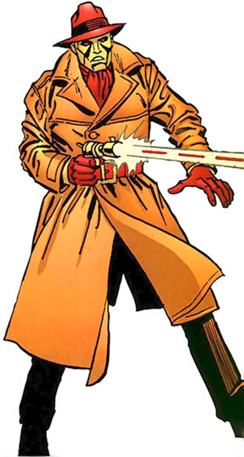 Copperhead (Chesney) (Daredevil enemy) (Marvel Comics) from the handbook
