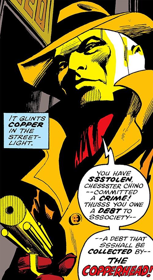 Copperhead (Chesney) (Daredevil enemy) (Marvel Comics) portrait