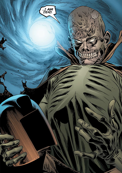 Copperhead (Chesney) (Daredevil enemy) (Marvel Comics) as an undead