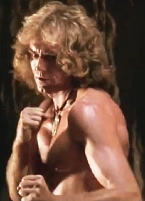 Cord (Jeff Cooper in the The Iron Circle movie) fighting stance