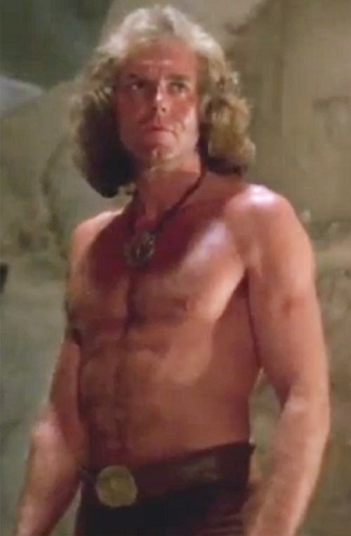 Cord (Jeff Cooper in the The Iron Circle movie) big hair