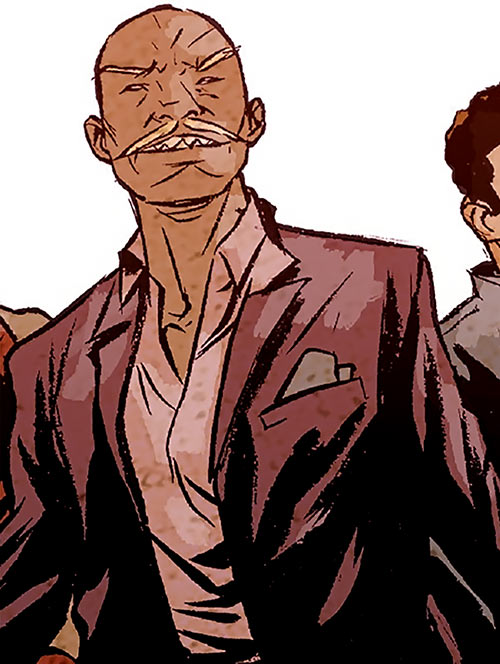 Cornell Cottonmouth (Marvel Comics) 2017 suit