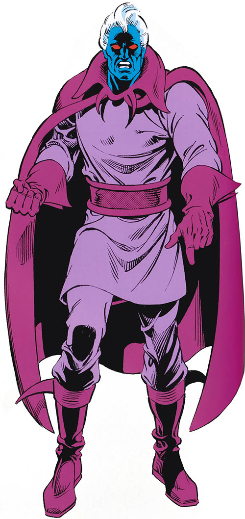 Corruptor - Marvel Comics - Jackson Day - 1985 Marvel handbook art
