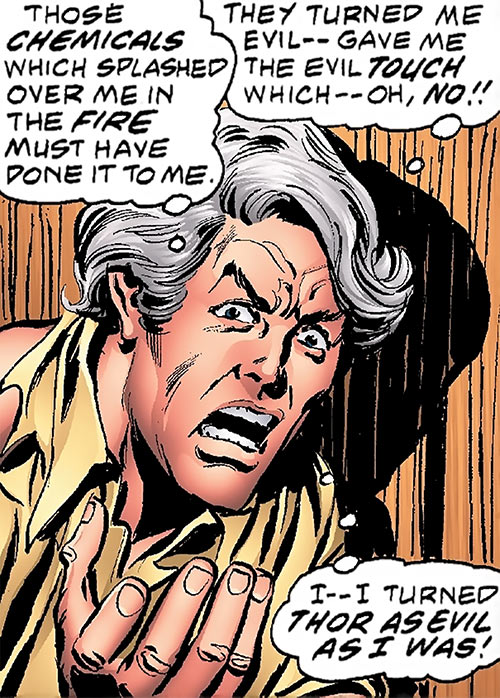 Corruptor (Nova enemy) (Marvel Comics) in human form