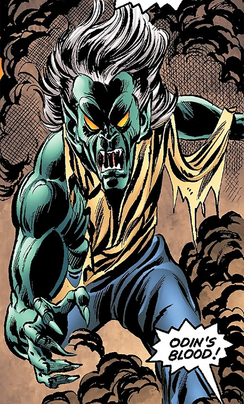 Corruptor (Nova enemy) (Marvel Comics) vs. Thor