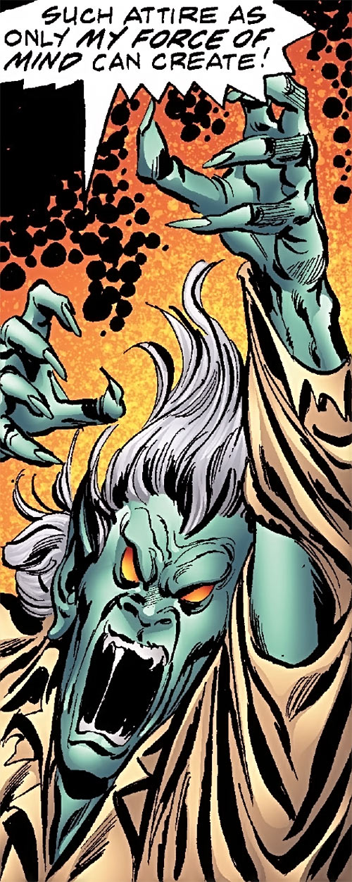 Corruptor (Nova enemy) (Marvel Comics) screaming and ranting