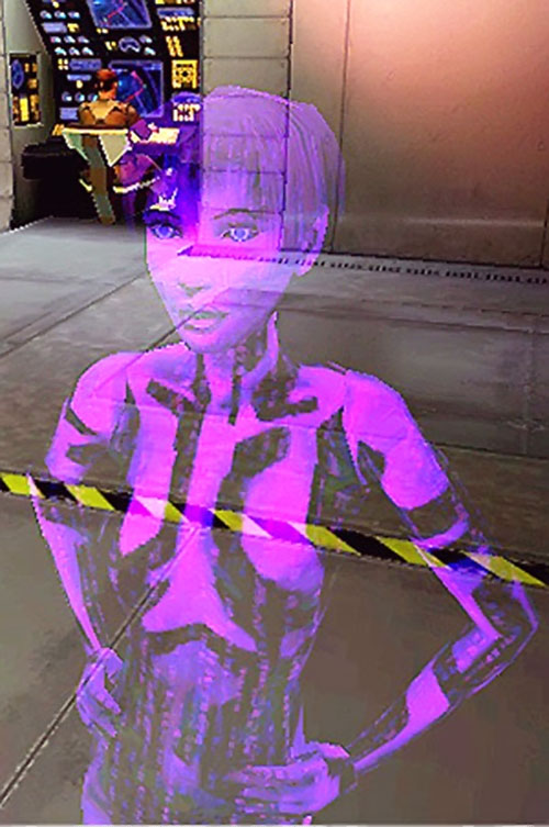 Cortana (Halo video games AI) hologram