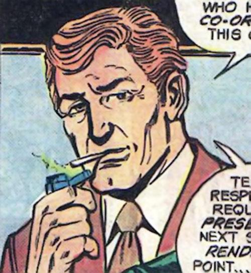 Cory Renwald (Superman ally) (DC Comics) smoking