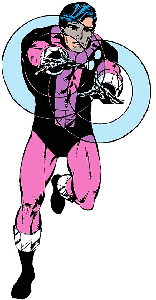 Cosmic Boy - DC Comics - Legion of Super-Heroes - 1980s Who's Who - Greg Larocque art