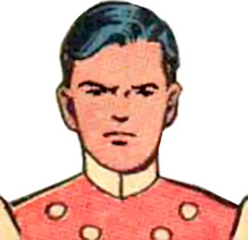 Cosmic Boy of the Legion of Super-Heroes (pre-reboot DC Comics) early portrait