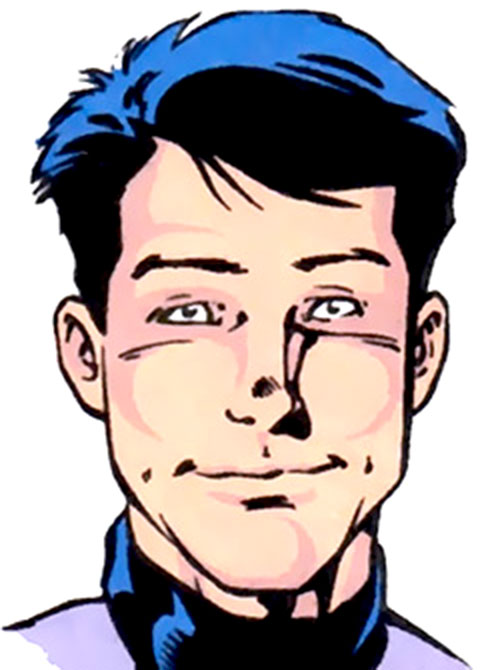 Cosmic Boy (Rebooted) face closeup