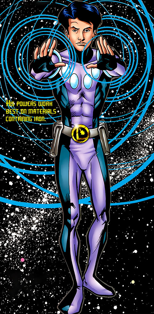 Rebooted version of Cosmic Boy