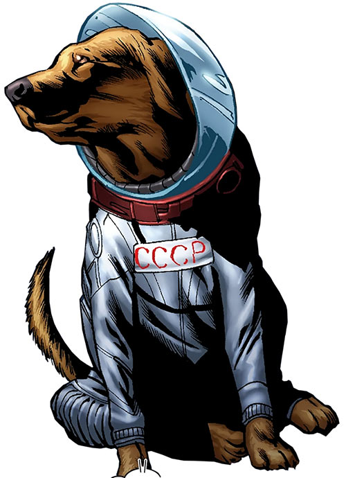 Cosmo of the Guardians of the Galaxy (Marvel Comics)
