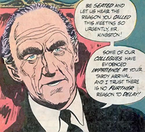 Council (Nemesis enemies) (DC Comics) Solomon