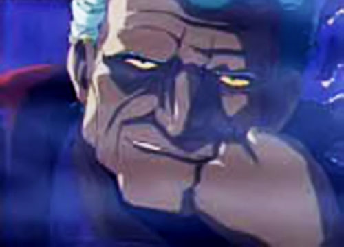 Count Magnus Lee (Vampire Hunter D) pensive and amused