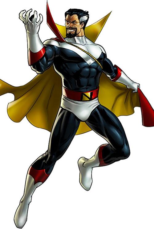 Count Nefaria (Marvel Comics) modern game art
