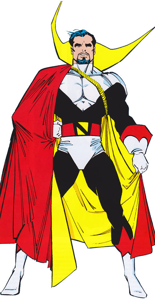 Count Nefaria looking mighty
