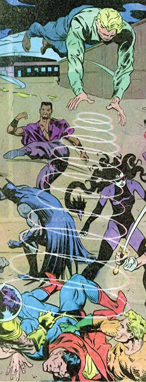 Count Vertigo (Suicide Squad member) (DC Comics) vs. Superman