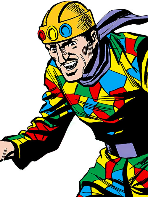 Crazy Quilt over a white background