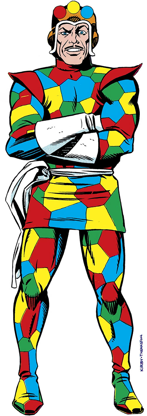 Crazy Quilt (DC Comics) from the Who's Who