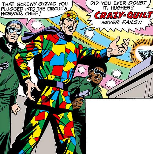 Crazy Quilt Dc Comics Robin Enemy Character Profile