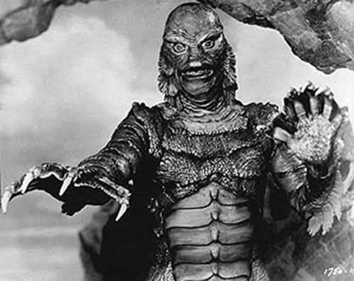 The Creature from the Black Lagoon (front view)