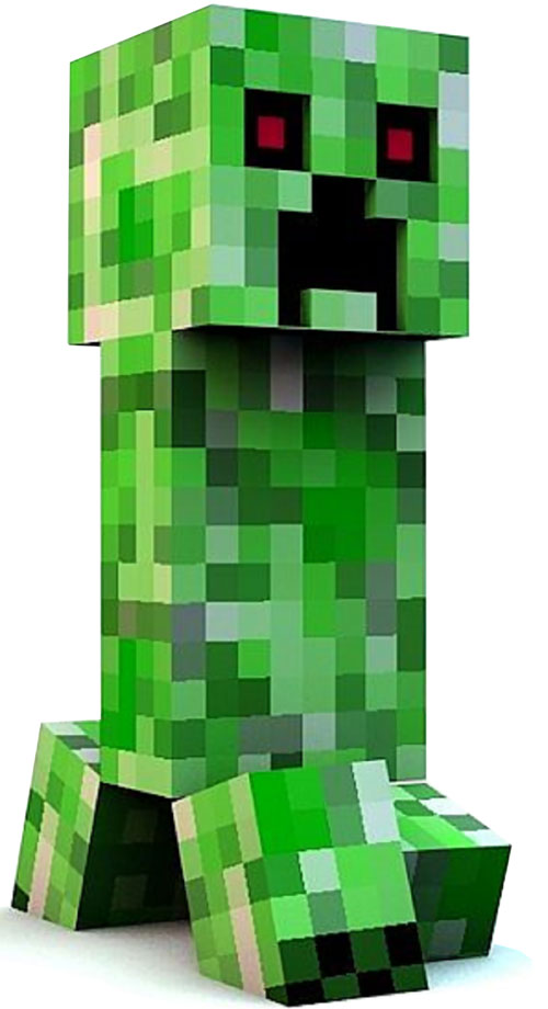 minecraft creeper creature profile dc heroes rpg