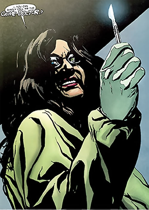Crime Doctor (Anica Balcescu) (Manhunter enemy) (DC Comics)