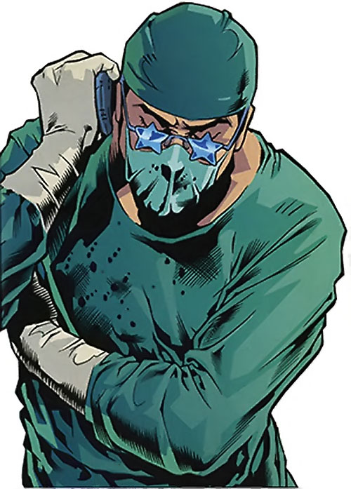 Crime Doctor (Birds of Prey enemy) (DC Comics)