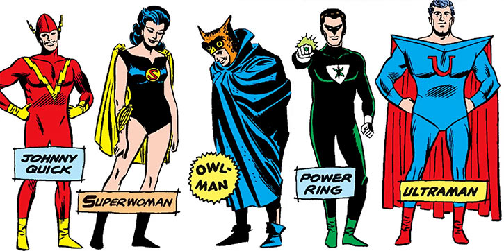 Crime Syndicate of America (DC Comics) (pre-Crisis Earth-3) roster