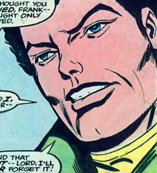Crimebuster (Nova ally) (Marvel Comics) unmasked face