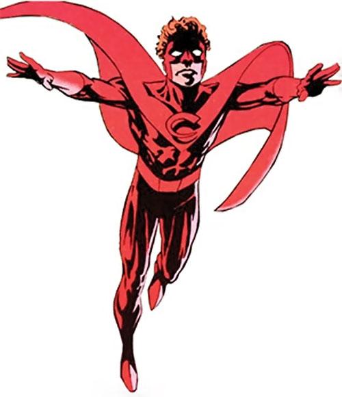 Crimson Crusader of Clan Destine (Marvel Comics)