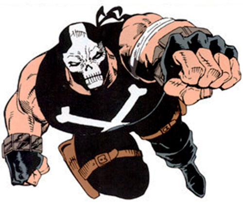 Crossbones (Marvel Comics) (Captain America enemy) leaping fist first