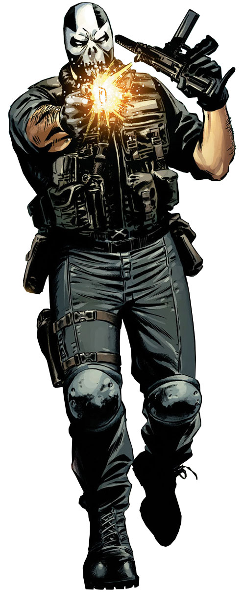 Crossbones (Marvel Comics) (Captain America enemy) by Steve Epting