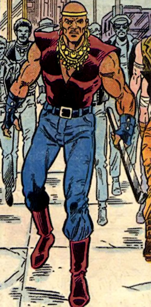 Crowbar of the Cadre (JLA enemy) (DC Comics) as a gangbanger