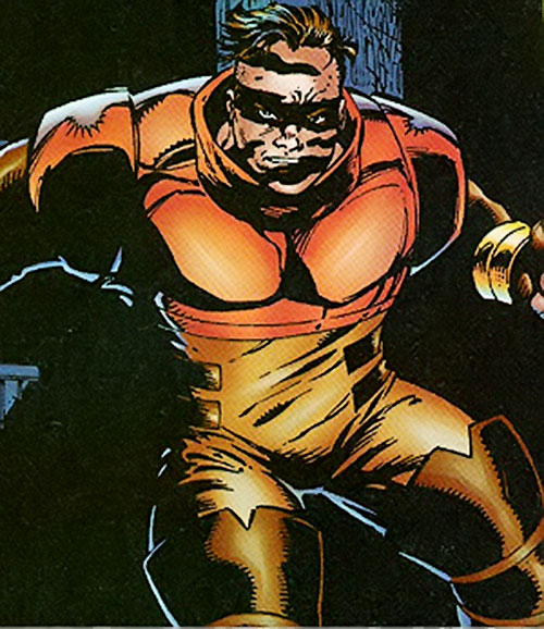 Cruiser (Sovereign 7) (DC Comics) in shadows