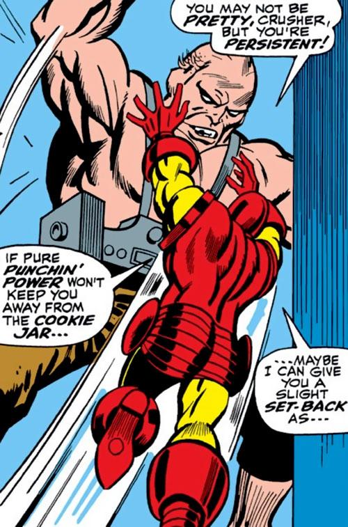 Crusher (Rozza) (Marvel Comics) vs. Iron Man