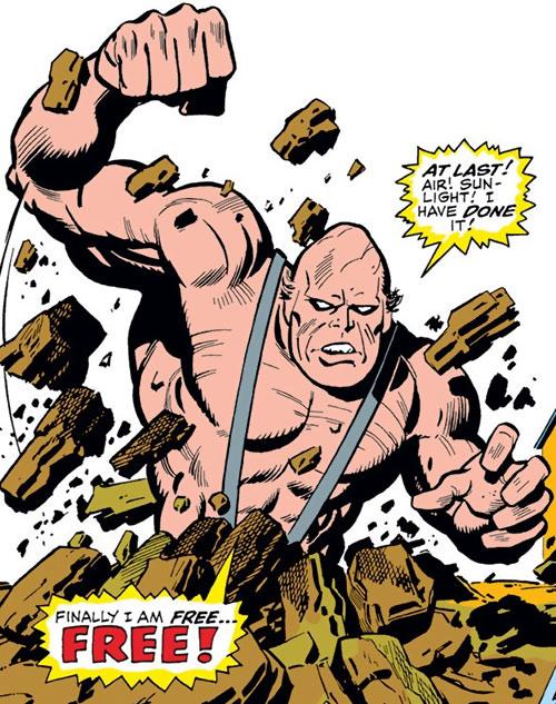 Crusher (Rozza) (Iron Man enemy) (Marvel Comics)