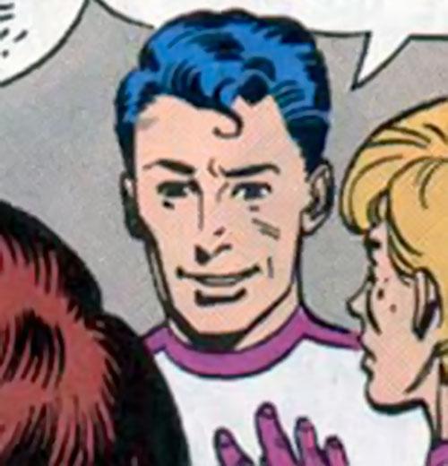 Crystal Man (Alan Moore 1963 comics) human face